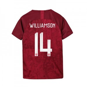 England Away Stadium Shirt 2019-20 - Kids with Williamson 14 printing