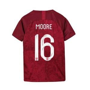 England Away Stadium Shirt 2019-20 - Kids with Moore 16 printing