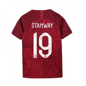 England Away Stadium Shirt 2019-20 - Kids with Stanway 19 printing