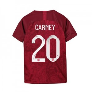 England Away Stadium Shirt 2019-20 - Kids with Carney 20 printing