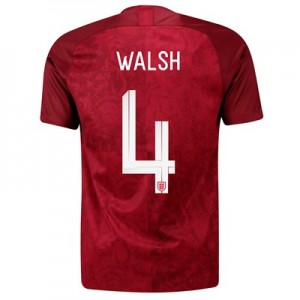 England Away Stadium Shirt 2019-20 - Men's with Walsh 4 printing