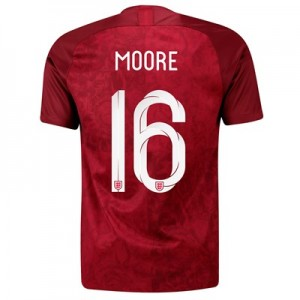 England Away Stadium Shirt 2019-20 - Men's with Moore 16 printing