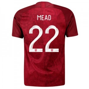England Away Stadium Shirt 2019-20 - Men's with Mead 22 printing