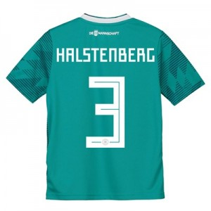 Germany Away Shirt 2018 - Kids with Halstenberg 3 printing