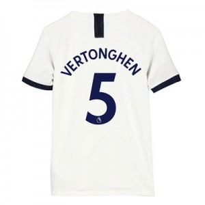 Tottenham Hotspur Home Stadium Shirt 2019-20 - Kids with Vertonghen 5 printing