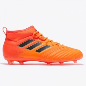 adidas Ace 17.1 Firm Ground Football Boots - Solar Orange/Core Black/Solar Red - Kids