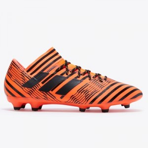 adidas Nemeziz 17.3 Firm Ground Football Boots - Solar Orange/Core Black/Solar Red