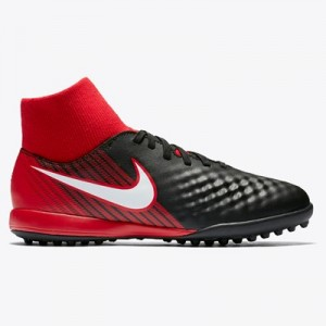 Nike Magista Onda III Dynamic Fit Astroturf Trainers - Red - Kids