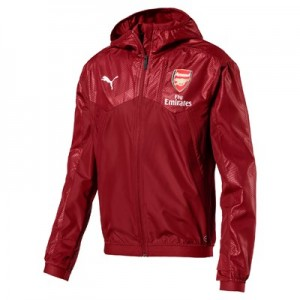Arsenal Training Stadium Vent Jacket - Red