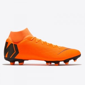 Nike Mercurial Superfly 6 Academy Multi Ground Pro Football Boots - Orange