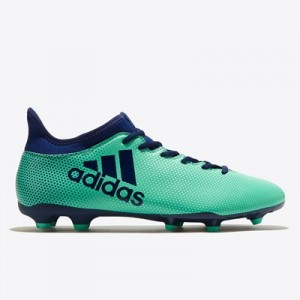 adidas X 17.3 Firm Ground Football Boots - Green