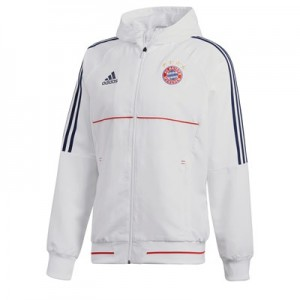 FC Bayern Presentation Jacket - White