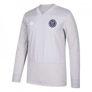 New York City FC Training Top - Long Sleeve - Lt Grey