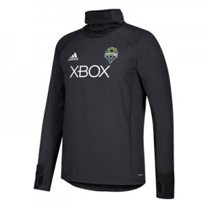 Seattle Sounders Warm Top - Black