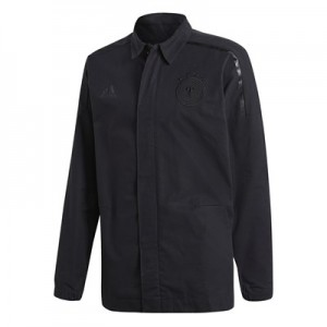 Germany ZNE Woven Anthem Jacket - Black