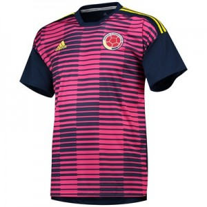 Colombia Home Pre Match Shirt - Pink