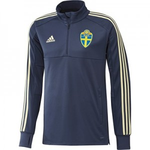 Sweden Training 1/4 Zip Top - Blue