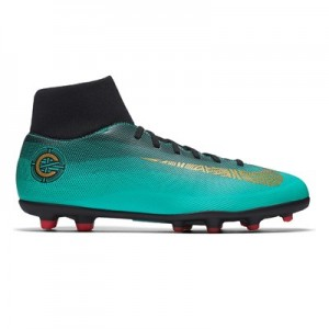 Nike Mercurial Superfly 6 Club CR7 Multi-Ground Football Boots - Green