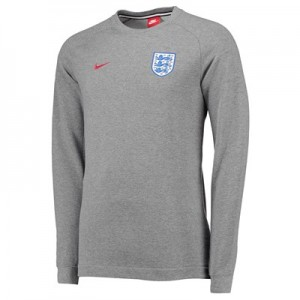 England Authentic Modern Crew Sweater - Grey