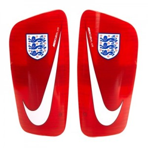 England Mercurial Lite Shinguards - Red