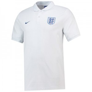 England Core Pique Polo - Grey