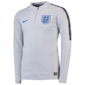 England Squad Drill Top - Grey - Kids