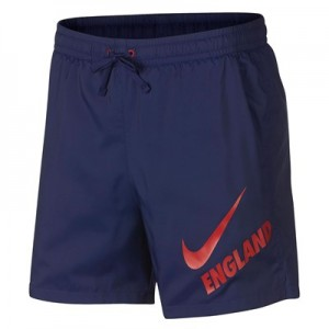 England Core Woven Flow Shorts - Blue