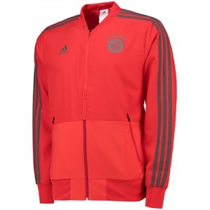 FC Bayern Training Presentation Jacket - Red