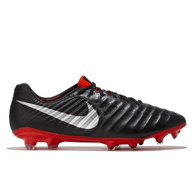 Nike Tiempo Legend 7 Elite Firm Ground Football Boot - Black/Red