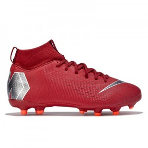 Nike Mercurial Superfly 6 Academy Multi-Ground Football Boots - Red - Kids