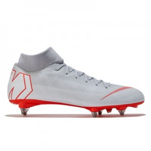 Nike Mercurial Superfly 6 Academy Soft Ground Football Boots - Grey