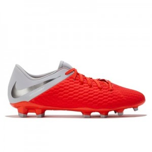 Nike Hypervenom Phantom 3 Academy Firm Ground Football Boots - Grey