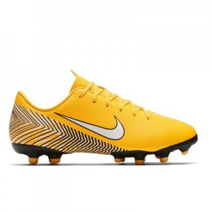 Nike Mercurial Vapor 12 Academy NJR Multi-Ground Football Boots - Yellow - Kids