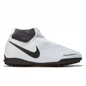 Nike PhantomX Vision Academy Dynamic Fit Astroturf Trainers - Grey - Kids