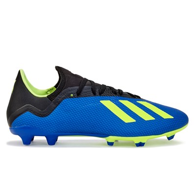 adidas X 18.3 Firm Ground Football Boots - Blue