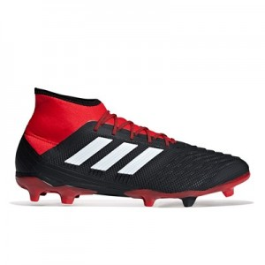 adidas Predator 18.2 Firm Ground Football Boots - Black