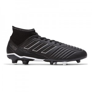 adidas Predator 18.3 Firm Ground Football Boots - Black