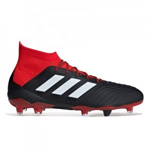 adidas Predator 18.1 Firm Ground Football Boots - Black