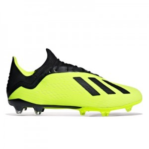 adidas X 18.2 Firm Ground Football Boots - Yellow