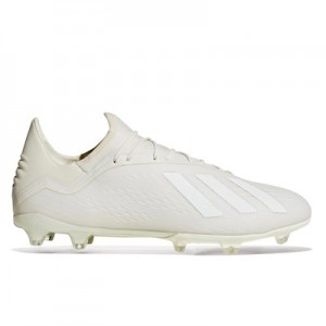 adidas X 18.2 Firm Ground Football Boots - White