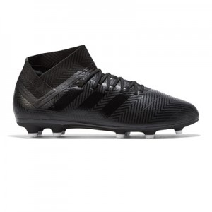 adidas Nemeziz 18.3 Firm Ground Football Boots - Black - Kids