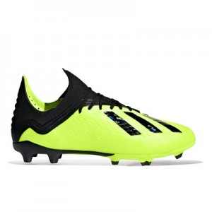 adidas X 18.1 Firm Ground Football Boots - Yellow - Kids