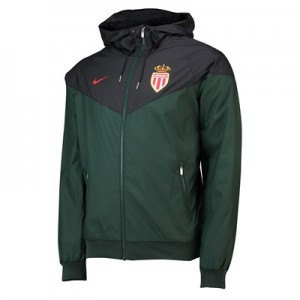 AS Monaco Authentic Windrunner - Green