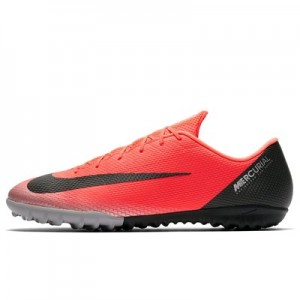 Nike MercurialX Vapor 12 Academy CR7 Astroturf Trainers - Red