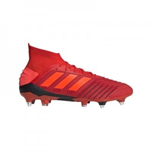 adidas Predator 19.1 Soft Ground Football Boots - Red