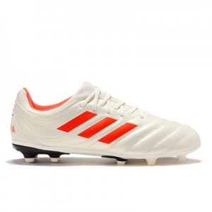 adidas Copa 19.3 Firm Ground Football Boots - White - Kids