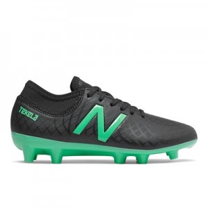 New Balance Tekela 1.0 Magique Firm Ground Football Boots - Black - Kids