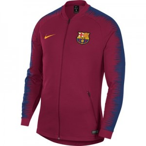 Barcelona Anthem Jacket - Red