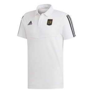 Los Angeles FC Coaches Polo - White