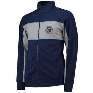 New York City FC Cut And Sew Track Jacket - Navy - Mens